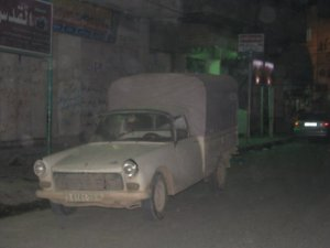 The great survivor: a Peugeot 404 pick-up